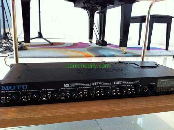 Audio Interface MOTU Pre8