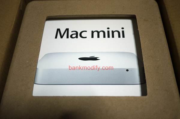 mac mini นอนอยู่ในกล่อง