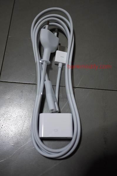 สาย AC และ Adaptor HDMI to DVI