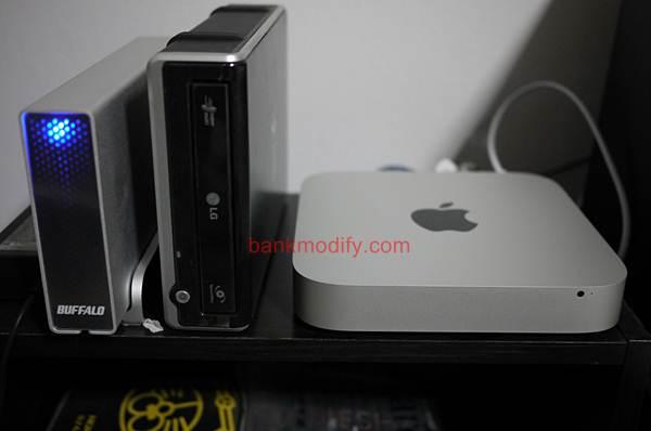 รุ่นใหม่ไม่มี Optical Drive เลยต้องใช้ Ext. DVD-RW