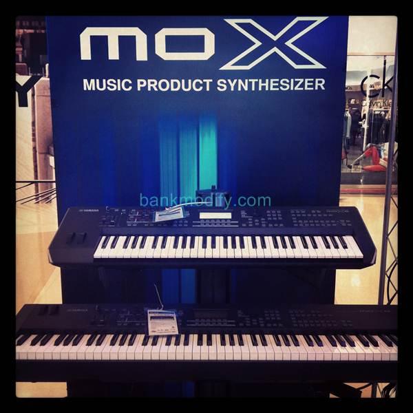 Yamaha MoX Workstation รุ่นเล็กที่น่าสนใจมากๆ