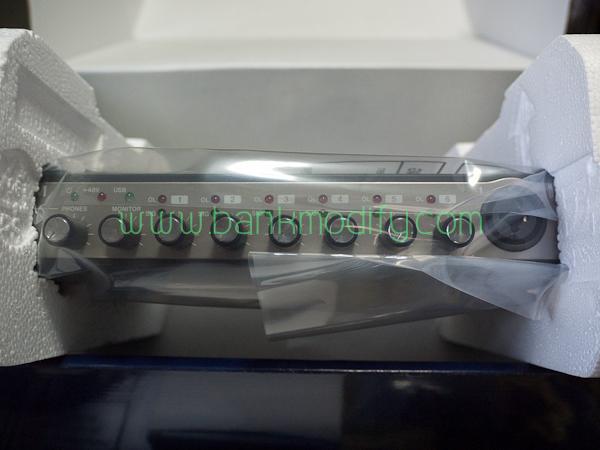 ตัว Autio Interface ถูกห่อด้วยพลาสติก