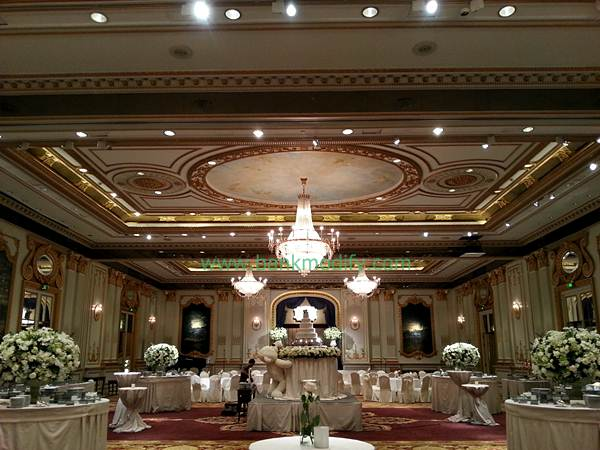 บรรยากาศภายในห้อง Royal Ballroom