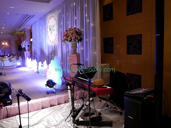 เวทีนักดนตรี งานแต่งงาน