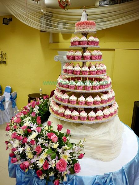 เค้กงานแต่งงาน ในแบบคัพเค้ก