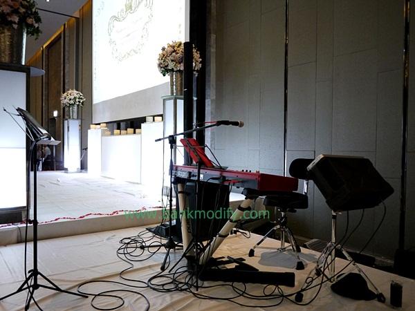 เวทีดนตรี งานแต่งงาน