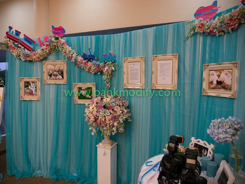 มุมสำหรับถ่ายรูป หน้างานแต่งงาน