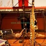 เปียโนไฟฟ้า และ saxophone วงดนตรีงานแต่งงาน