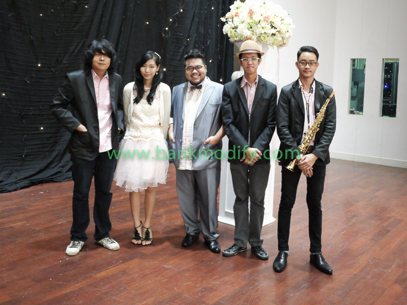 ทีมนักร้องและนักดนตรี งานแต่งงาน