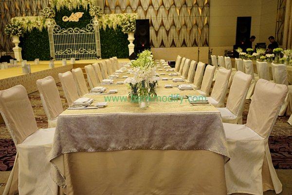 โต๊ะสำหรับ VIP งานแต่งงาน