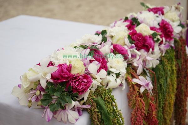 การประดับดอกไม้ งานแต่งงาน