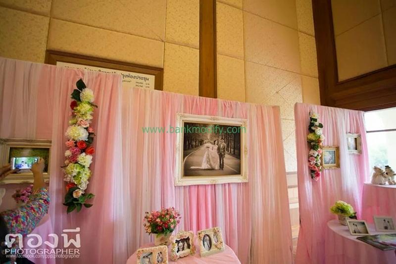 การตกแต่งหน้างานแต่งงาน