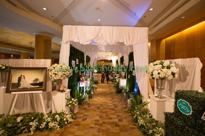 ทางเข้าห้องจัดเลี้ยง งานแต่งงาน