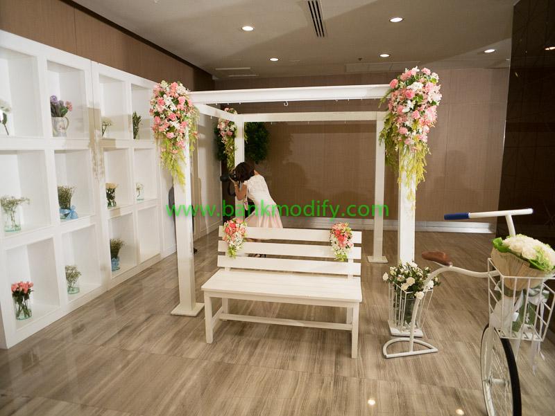 Gallery หน้าห้องจัดเลี้ยงงานแต่งงาน