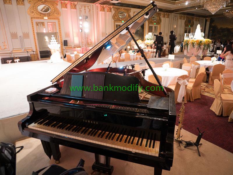 Grand Piano ในงานแต่งงาน