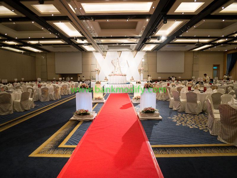ภายในห้อง Ballroom งานแต่งงาน