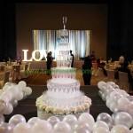 โต๊ะรินแชมเปญ งานแต่งงาน