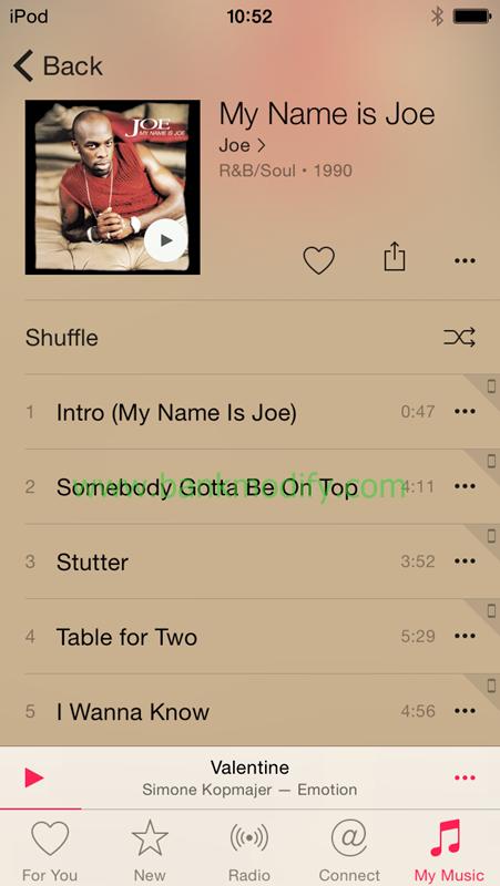 อัลบั้ม My Name is Joe ที่ไม่ได้ฟังมานานมาก