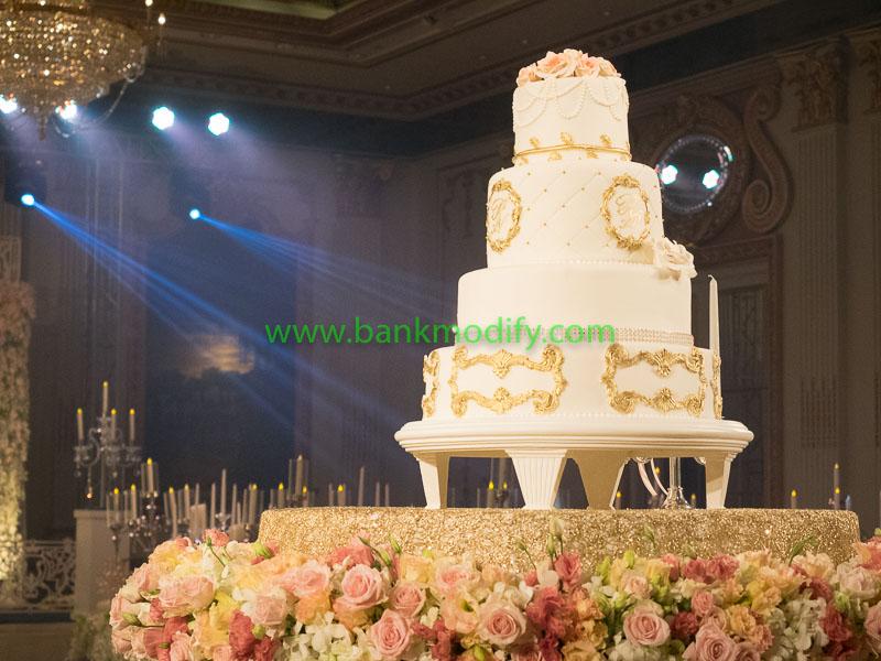 เค้กงานแต่งงาน เป็นเค้กจริงทั้งหมด
