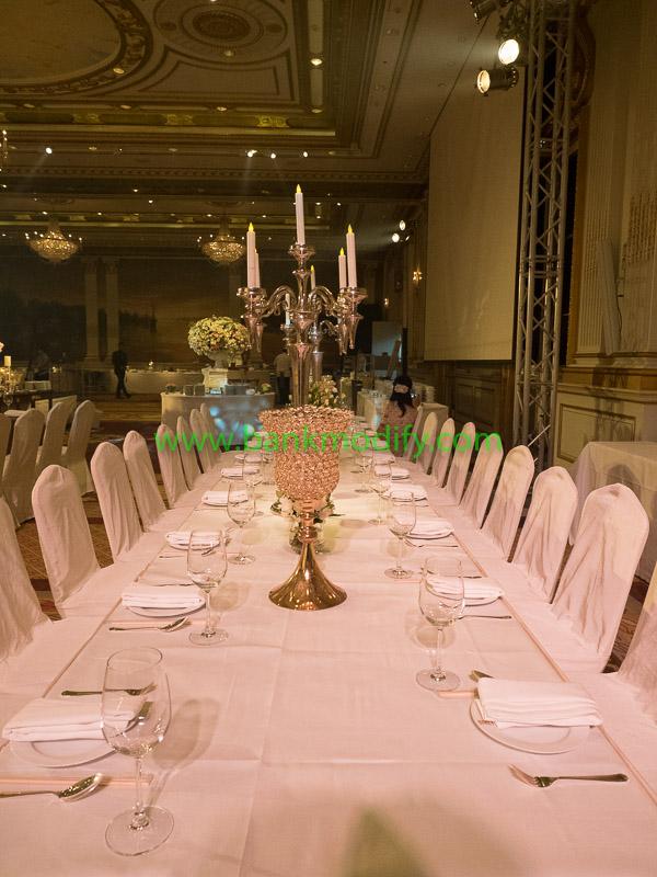โต๊ะสำหรับแขก VIP