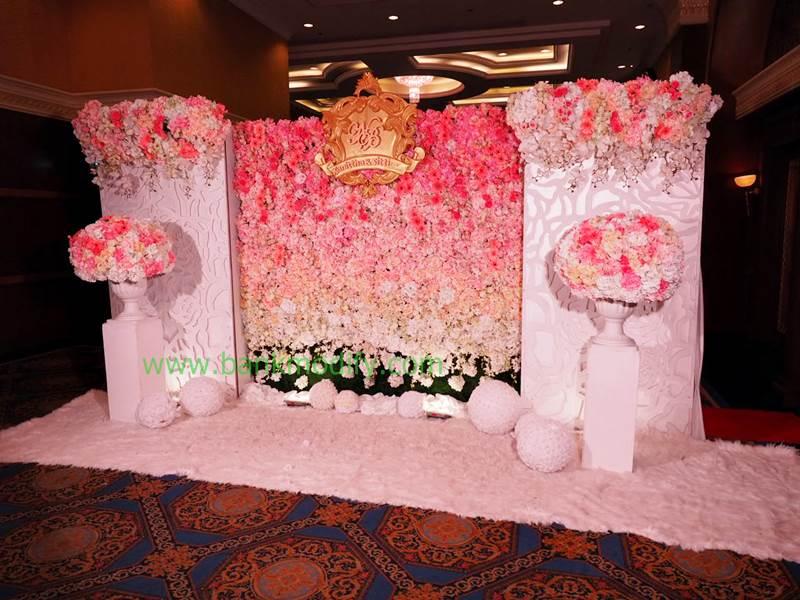 Backdrop งานแต่งงาน