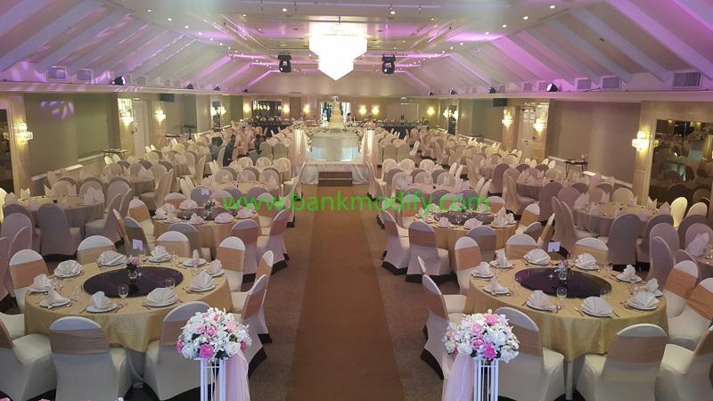 ภายในห้องจัดเลี้ยง งานแต่งงาน
