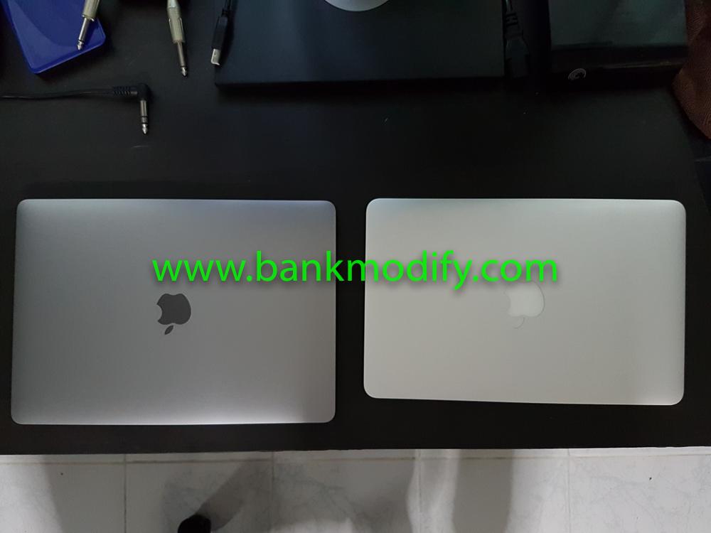 เทียบขนาดกับ macbook air 11 นิ้ว (Early 2015)