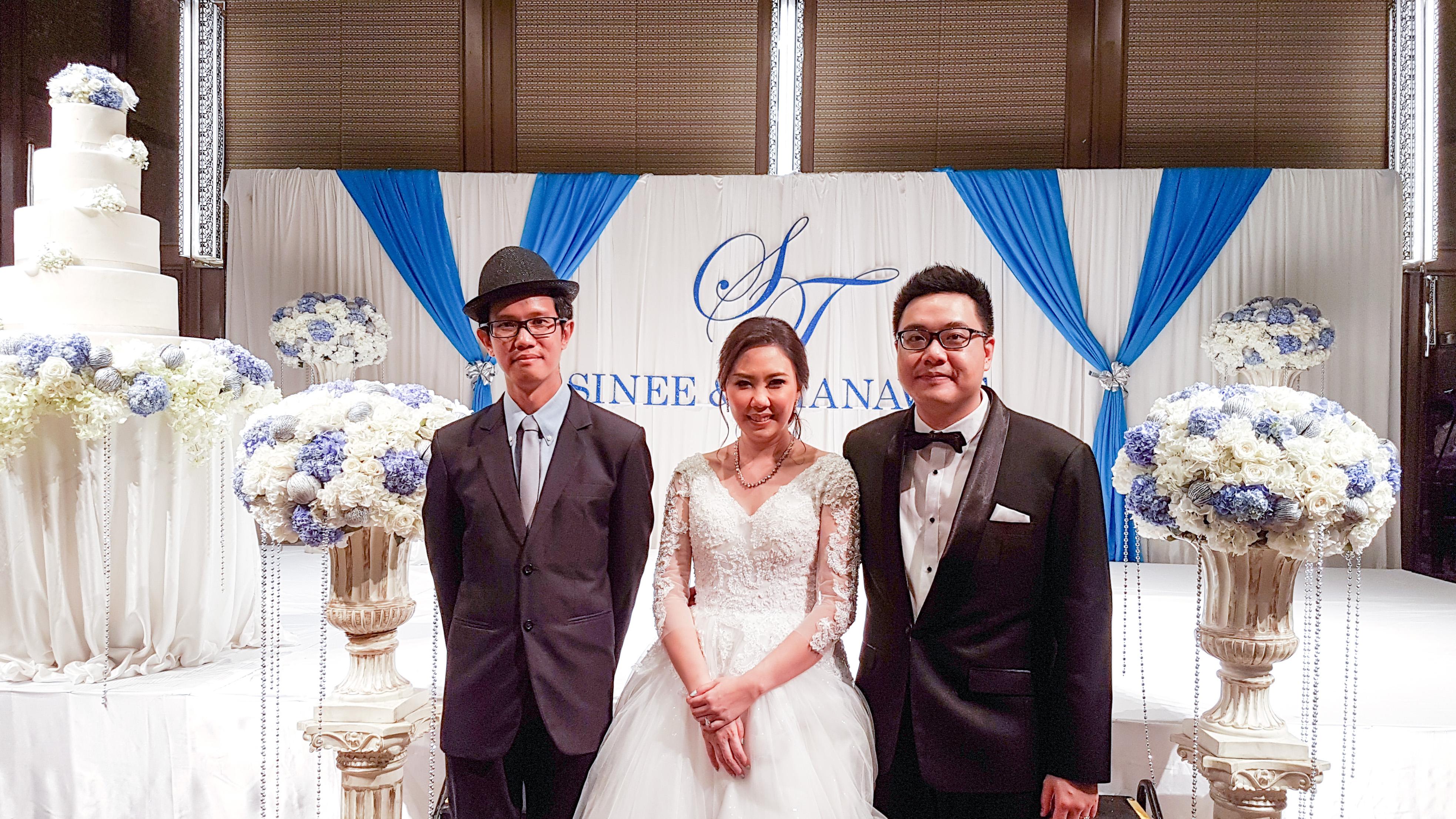 ถ่ายภาพกับบ่าวสาว งานแต่งงาน